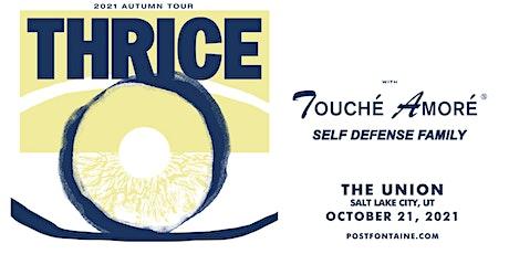 Thrice tickets