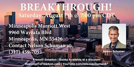 Breakthrough in Minneapolis, MN tickets