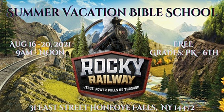 All Aboard the Rocky Railway VBS Express tickets