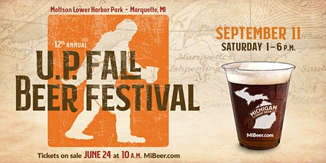 Michigan Brewers Guild 12th Annual U.P. Fall Beer Festival tickets