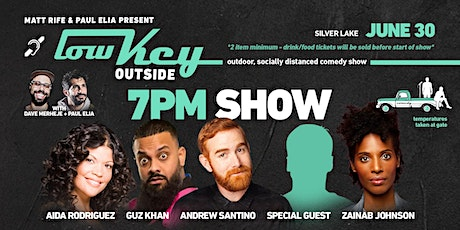 Lowkey Outside with Andrew Santino & Guz Khan tickets