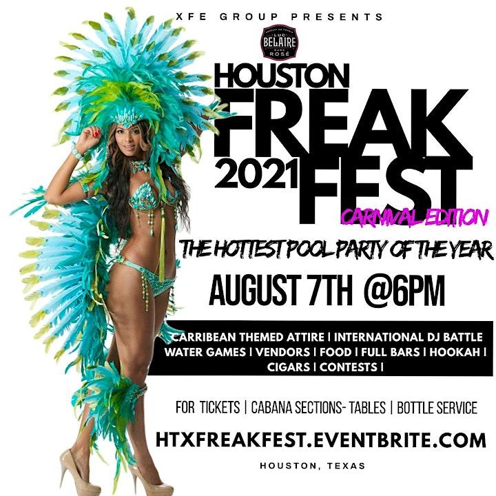 XFE Presents : Houston Freak Fest 2021 image