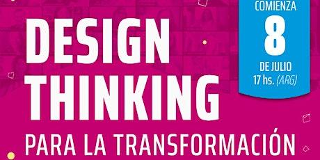 Webinar informativa Design Thinking en acción #7 entradas