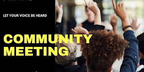 Greater Chatham's Community Meeting tickets