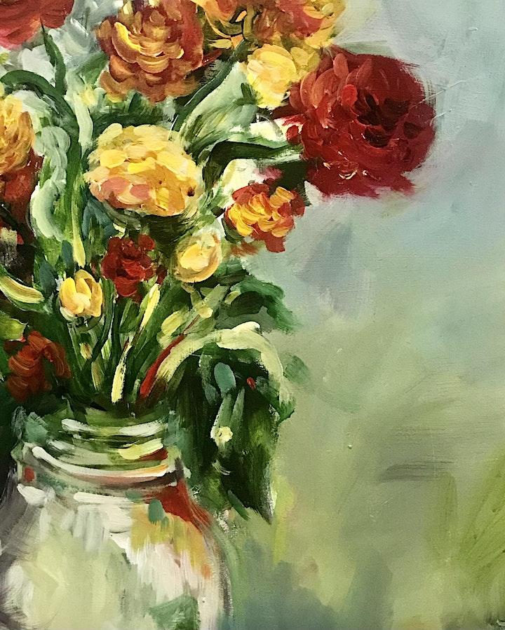 Warm Blossoms Art Class by Lauren Morris image