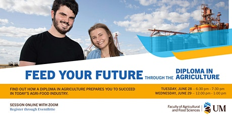 Feed Your Future in the Diploma in Agriculture - June 29 tickets
