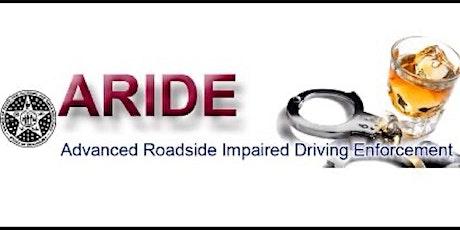 Advanced Roadside Impaired Driving Enforcement (ARIDE) , Davis, OK tickets