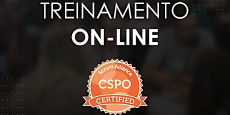 Treinamento CSPO® - Certified Scrum Product Owner - Scrum Alliance -#89 ingressos