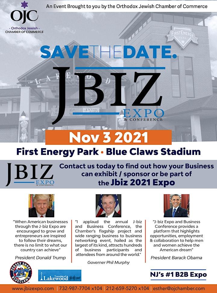 J BIZ EXPO &CONFERENCE 2021 - ADMISSION TICKET image