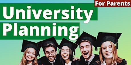 University Planning: College Conferences For Parents biglietti