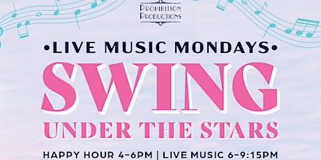 MONDAYS: LIVE MUSIC MONDAYS at WATERMARK BEACH - SWING UNDER THE STARS! tickets