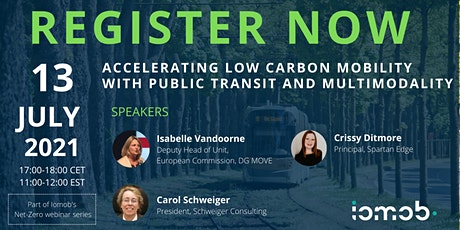 Accelerating low carbon mobility with public transit and multimodality tickets