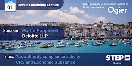 Summer Bonus STEP Lunchtime Lecture - Martin Popplewell, Deloitte LLP tickets