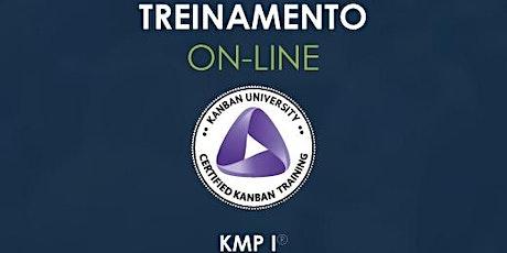 Treinamento KMP I - Kanban University - ONLINE - turma #15 ingressos