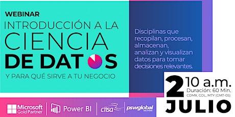 02 Julio | Introducción a la Ciencia de Datos | León boletos