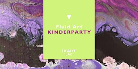 FLUID ART Workshop für Kinder 20.06. Tickets