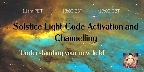 Solstice Light Code Activation and Channelling tickets