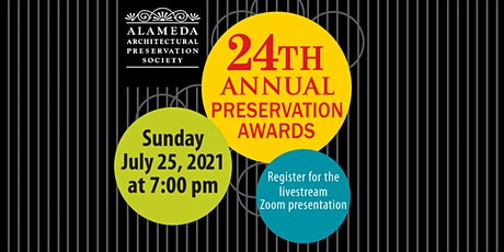 2021 AAPS Preservation Awards tickets