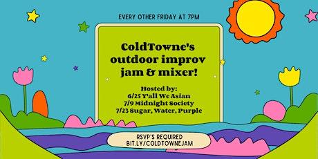 Outdoor Improv Jam and Mixer tickets