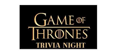 Virtual 'GAME OF THRONES' Trivia Night tickets