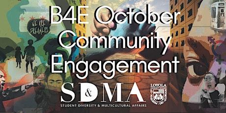 B4E October Community Engagement tickets