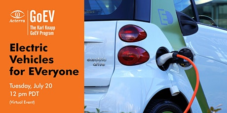 Electric Vehicles for EVeryone tickets