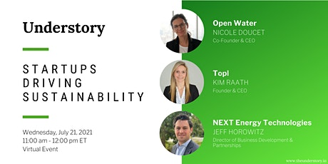 Startups Driving Sustainability - July Showcase tickets