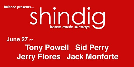 Shindig ~ House Music Sundays tickets