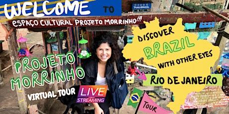 Art Social Project in Rio de Janeiro FAVELA tickets
