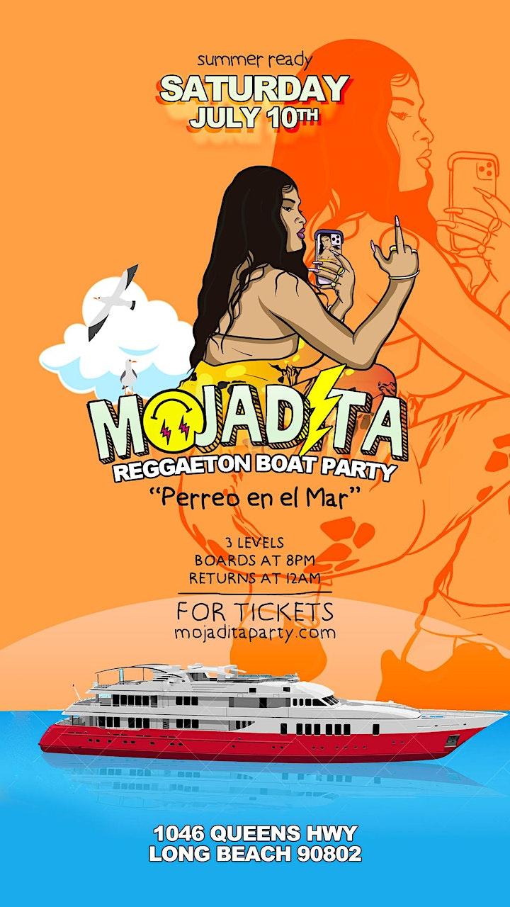 MOJADITA Reggaeton Boat Party July 10th image