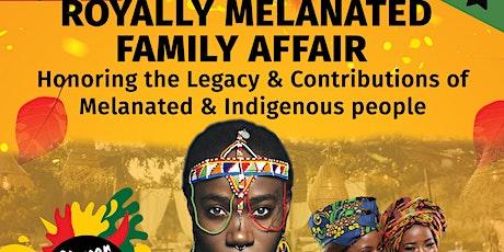 The Royally Melanated Family Affair Dinner & Paint! tickets
