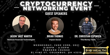 Cryptocurrency Networking Event tickets