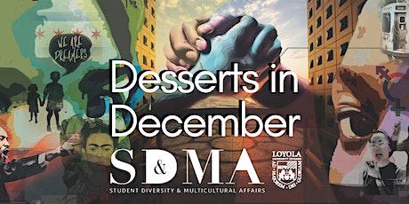 Desserts in December tickets
