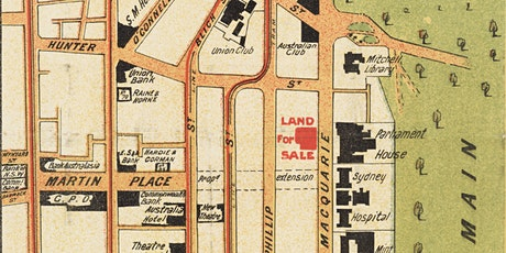 Sydney's waterfront in late-19thcentury suburban borough maps tickets