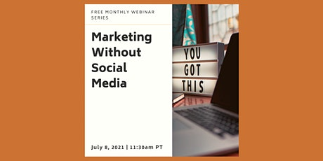 Marketing without Social Media tickets