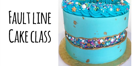 Cake Decorating Class: Fault Line Cake at Fran's Cake and Candy Supplies tickets