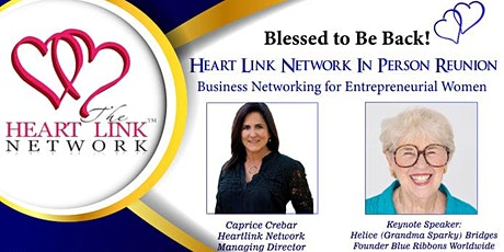 Heart Link Business Network In-Person Reunion! tickets