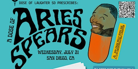 Dose of Laughter presents Aries Spears! As seen on MadTV tickets