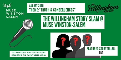 """Willingham Story Slam @ MUSE WS: """"Truth & Consequences"""" biglietti"""