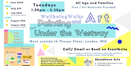 Art + Painting Outdoors + Wellbeing Walks tickets