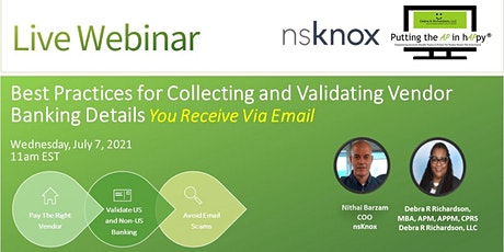 Best Practices for Collecting and Validating Vendor Banking Details tickets