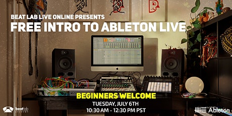 Free Intro to Ableton  Live (Beginner Friendly) biglietti