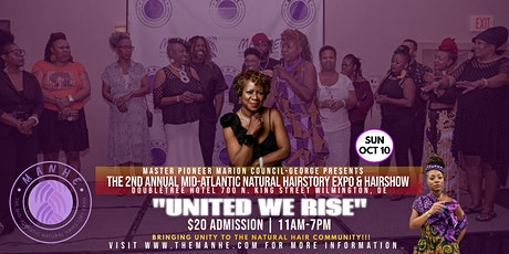 2nd Annual Mid-Atlantic Natural Hairstory Expo & Hairshow tickets