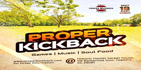 Proper Kickback tickets