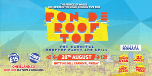 Pon De Rooftop 2015 - The Carnival Rooftop Party and...