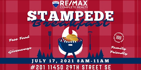 RE/MAX Complete Realty - FREE Stampede Breakfast tickets