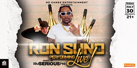 Ron Suno Performing Live at JZ's! tickets