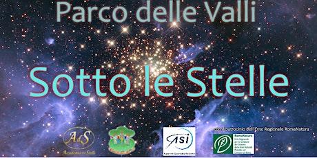 Parco delle Valli sotto le stelle biglietti