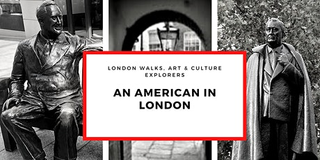An American in London - small group walk with a qualified guide tickets