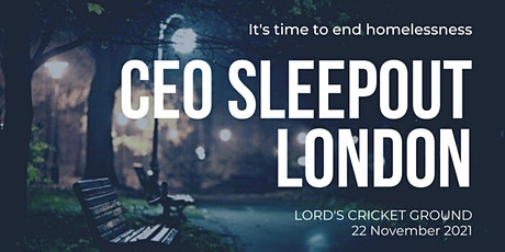 CEO Sleepout - London tickets